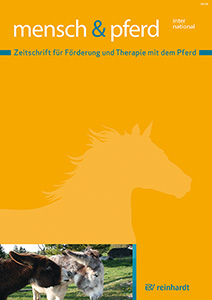 Cover der Zeitschrift Mensch und Pferd international