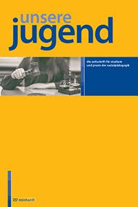 Cover der Zeitschrift Unsere Jugend mit der Abbildung einer multikulturellen Jugendgruppe
